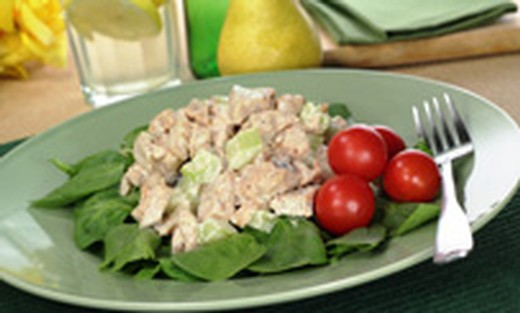Apple-Cranberry Chicken Salad