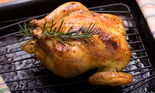 Garlic & Rosemary Roasted Cornish Game Hens